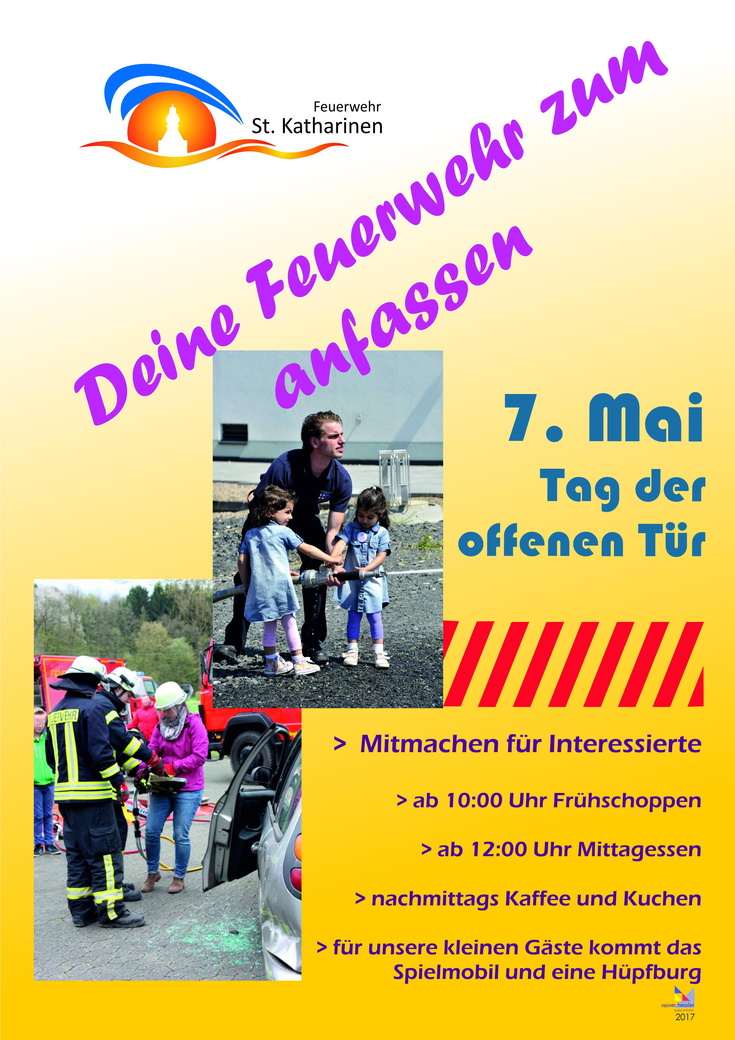 Tag der offenen tür 2017  Foundation Vorlage - www.feuerwehr-st-katharinen.de